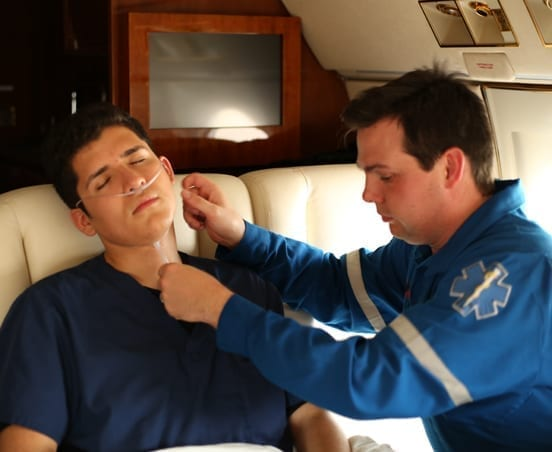 Taking Care of a Patient on Board