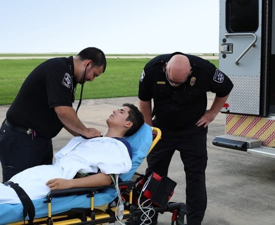 Bed to Bed transfer from the Ambulance